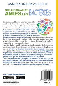 Nos incroyables amies les bactéries - LIVRE - Anne Katharina Zschocke Cover