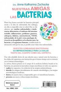Cubierta LIBRO Nuestras Amigas las Bacterias - Anne Katharina Zschocke